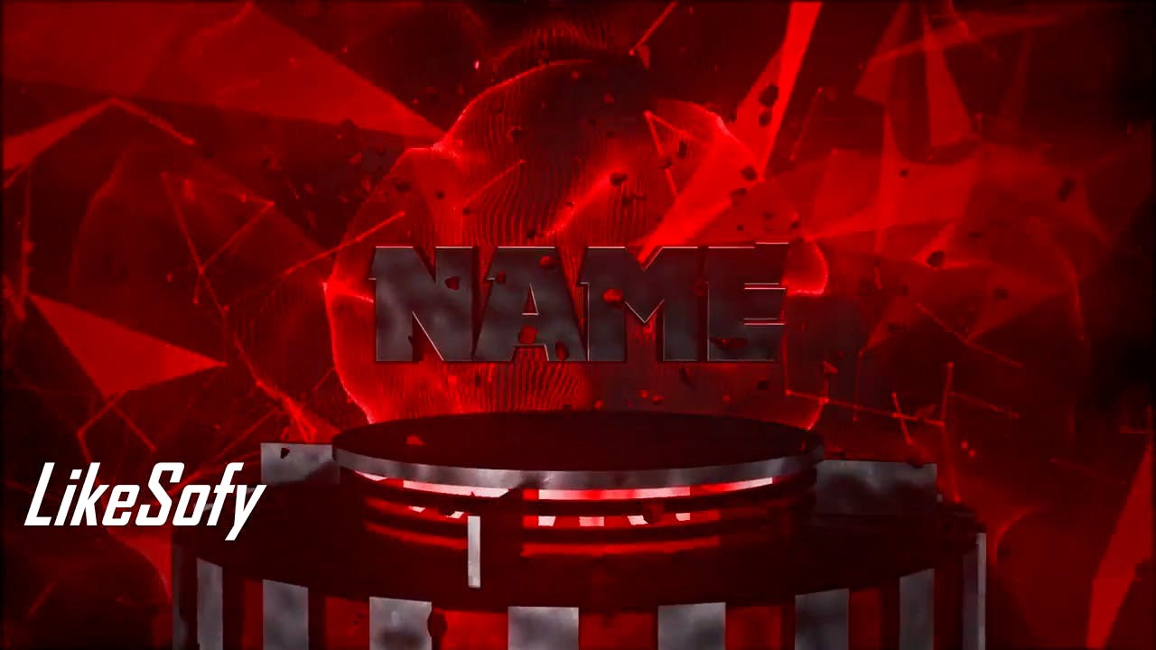 Ruby Red and Silver Cinema 4D After Effects Intro Template