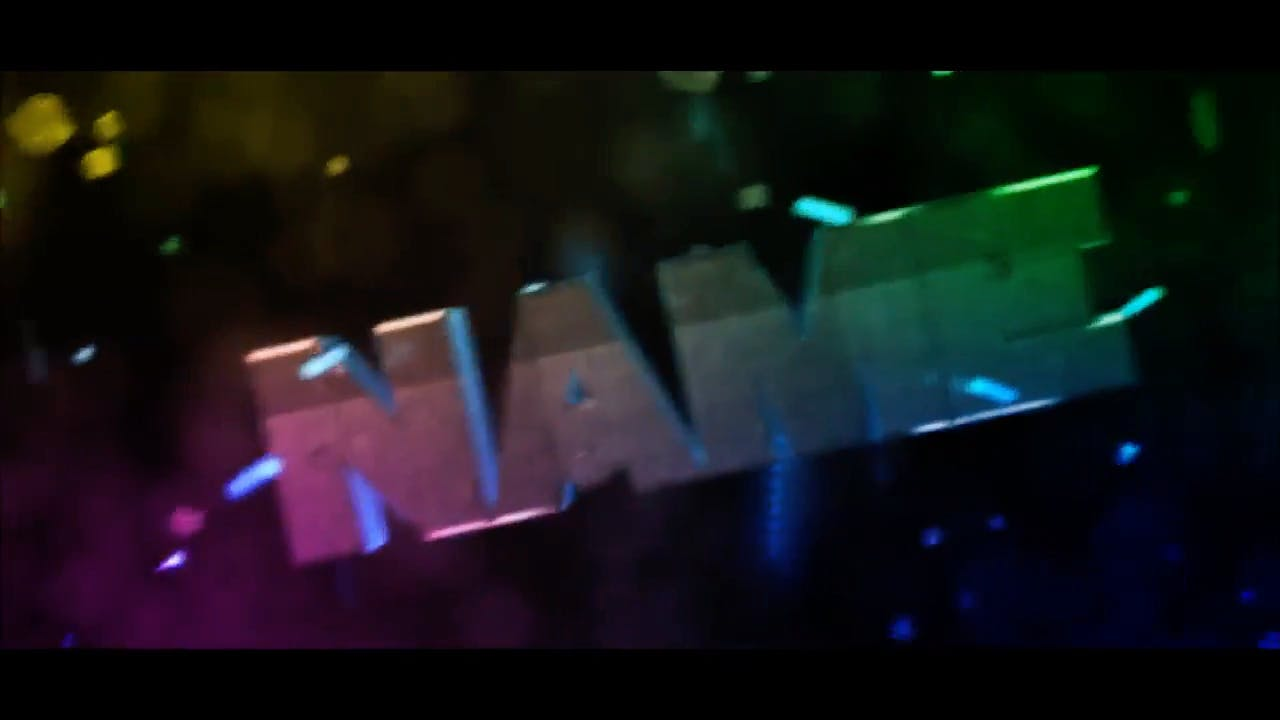 Spectacular Color shifting Cinema 4D After Effects Intro Template