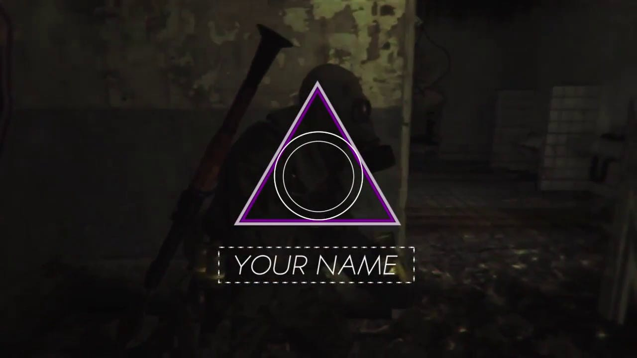 Free Gaming After Effects Intro Template