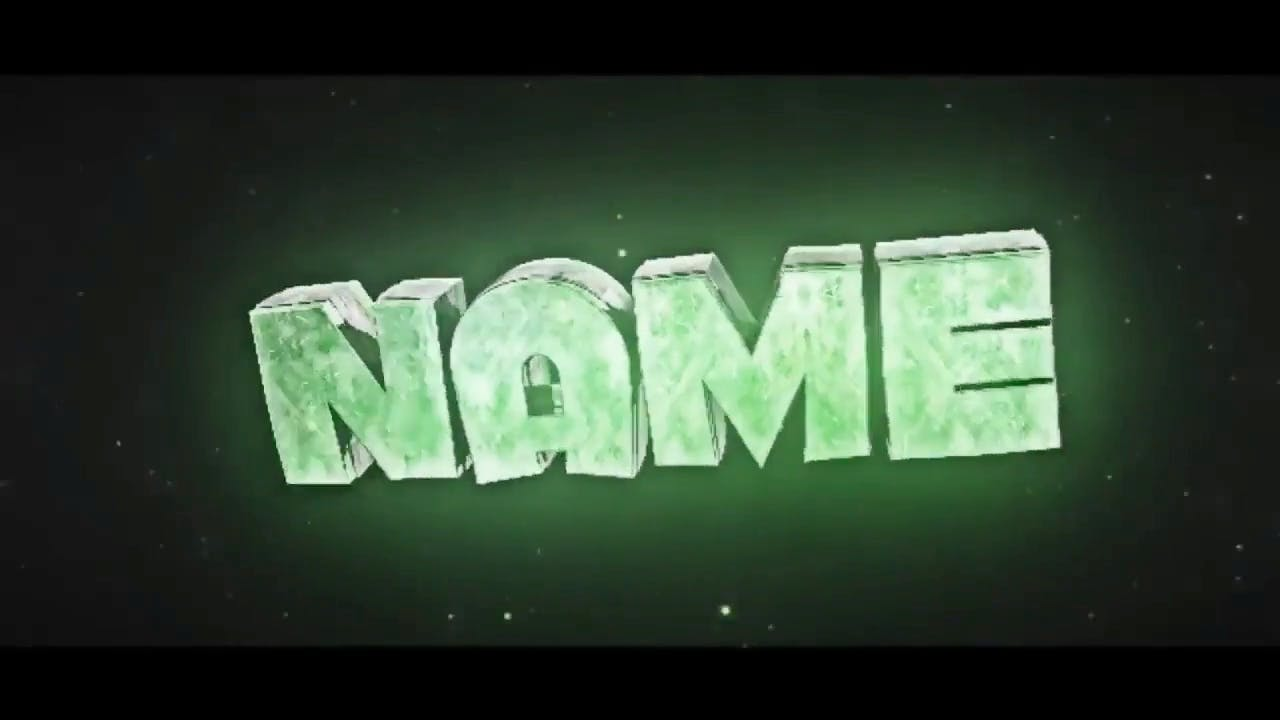 Free Metallic Green Cinema 4D 3D After Effects Intro Template