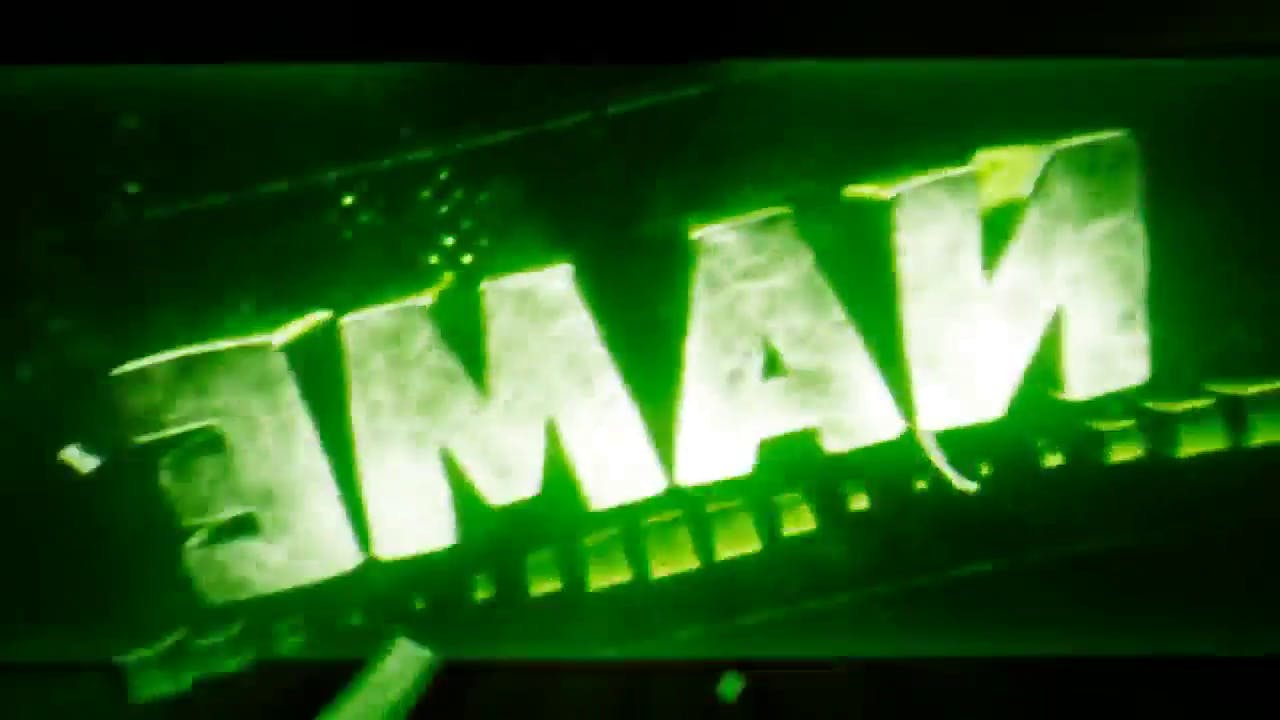 Free Crazy Color Changing Cinema 4D After Effects Intro Template