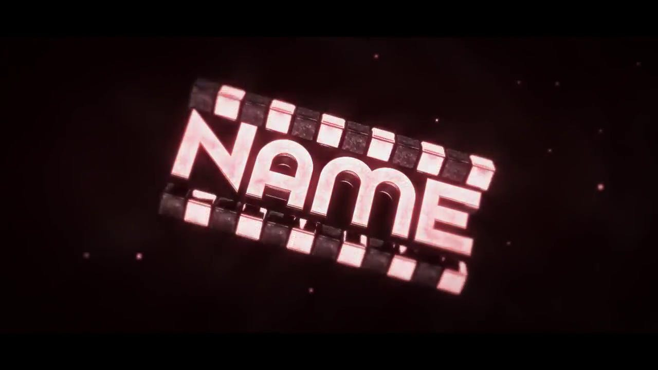 Shiny in Red Cinema 4D After Effects Intro Template
