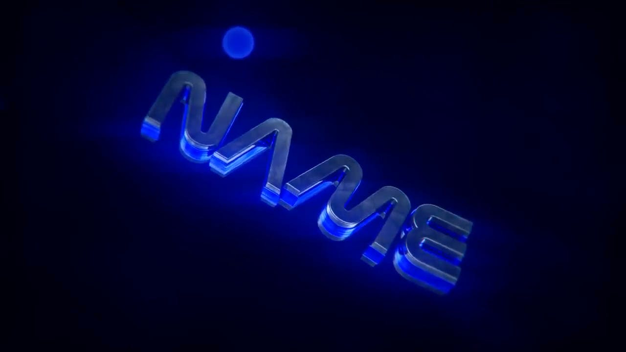 Free Insane Sliver Blue Cinema 4D After Effects Intro Template