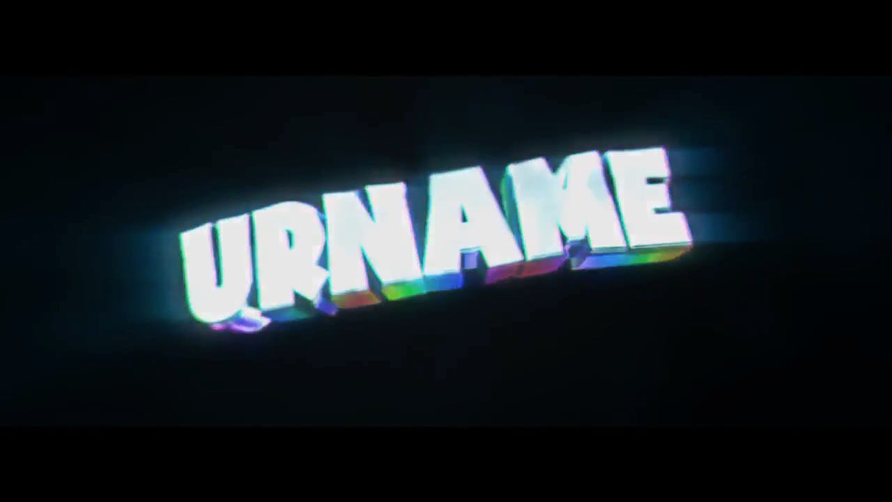 Free Rainbow Cinema 4D After Effects Intro Template