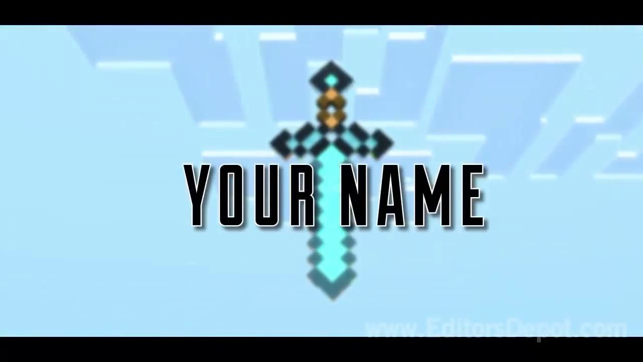 Minecraft Intro Template (Sony Vegas or After Effects)