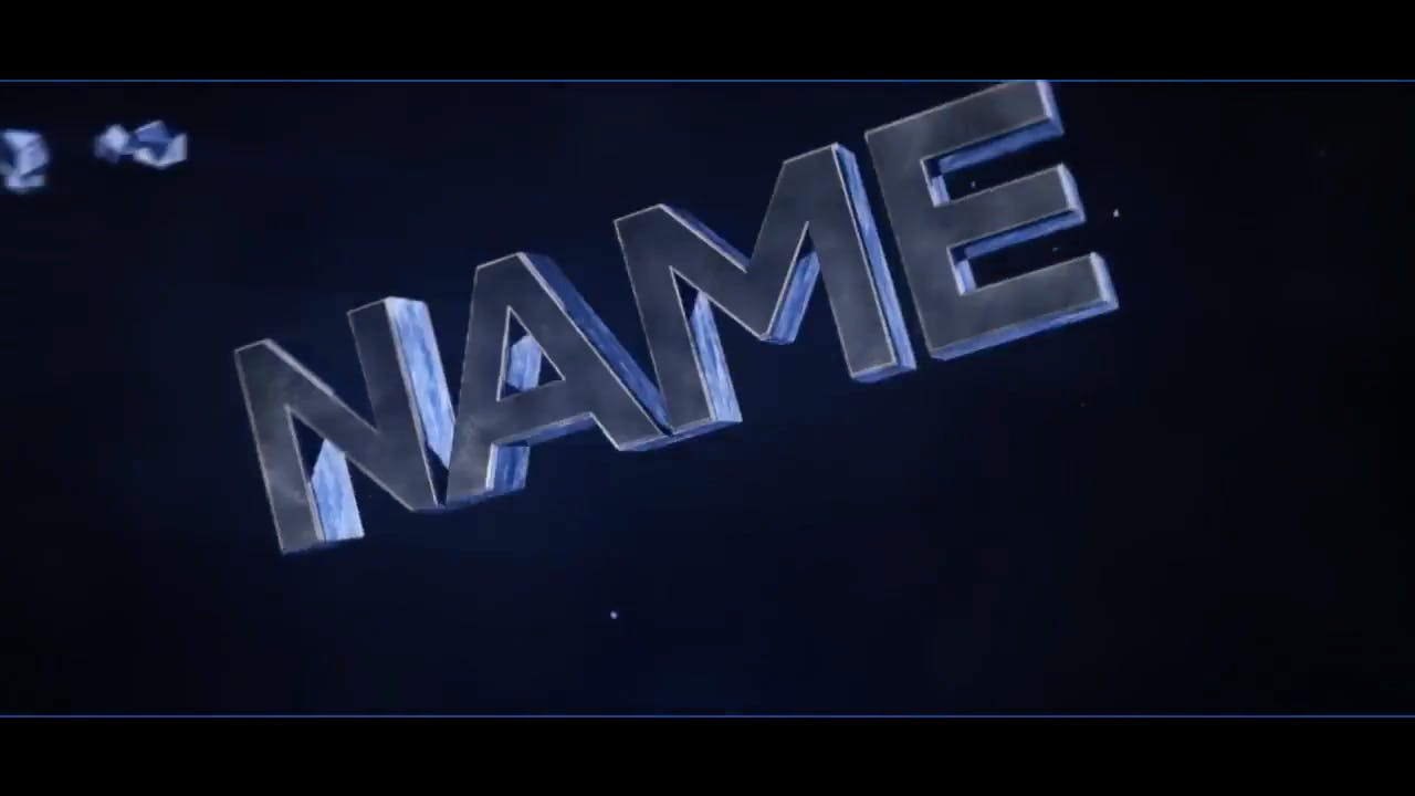 Awesome Silver Blue Combined Cinema 4D After Effects Intro Template
