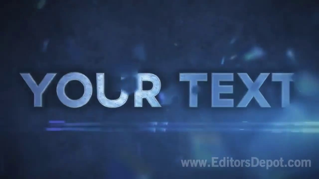 FREE Element 3D Intro Template