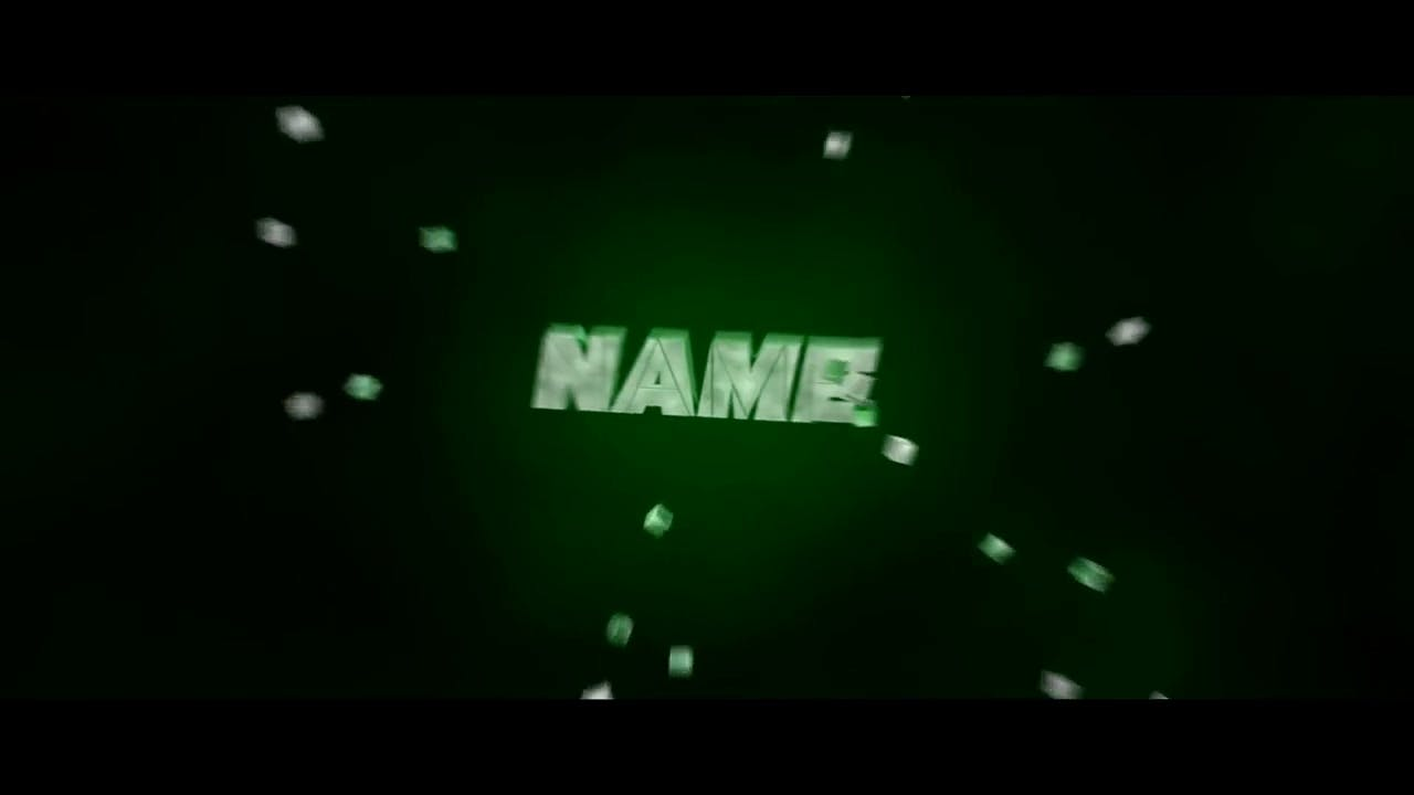 Free Chill Green Cinema 4D After Effects Intro Template