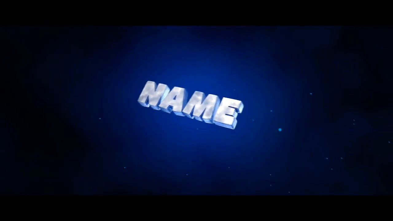 Awesome Blue Fast Beat Cinema 4D After Effects Intro Template
