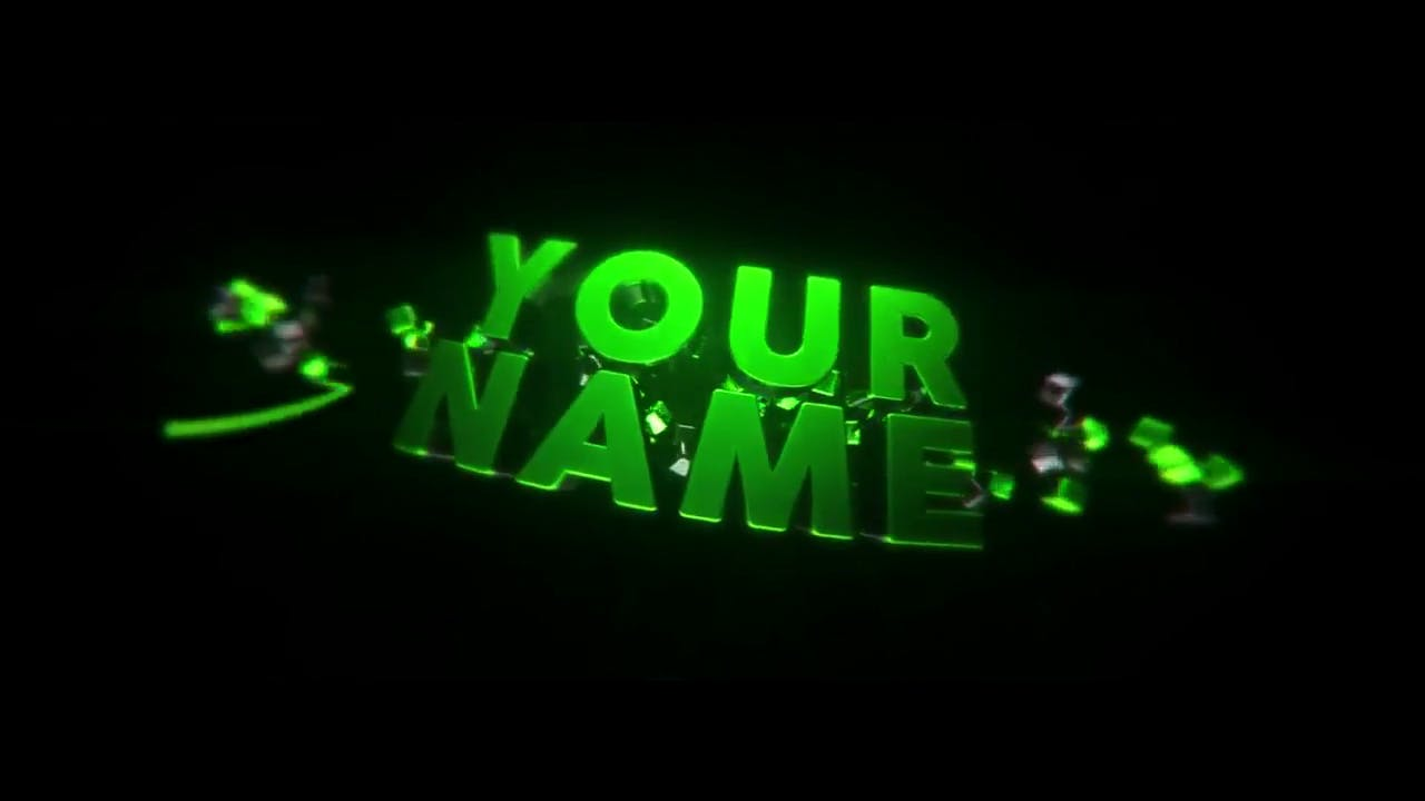 Insane Rolling Color Change Cinema 4D After Effects Intro Template
