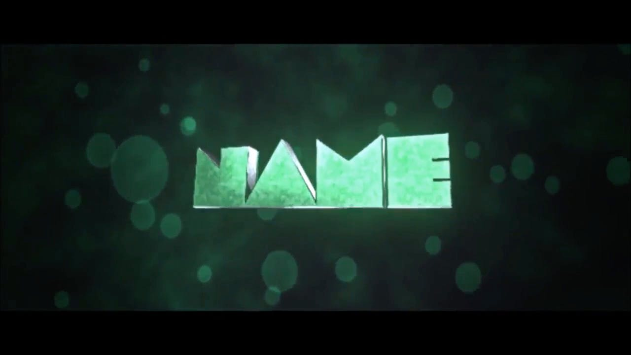 Slow Explosion in Green Cinema 4D After Effects Intro Template