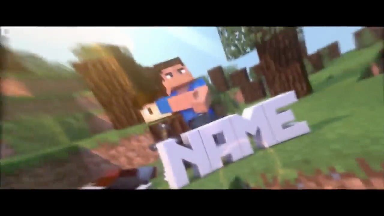 Insane Minecraft Animation Cinema 4D After Effects Intro Template