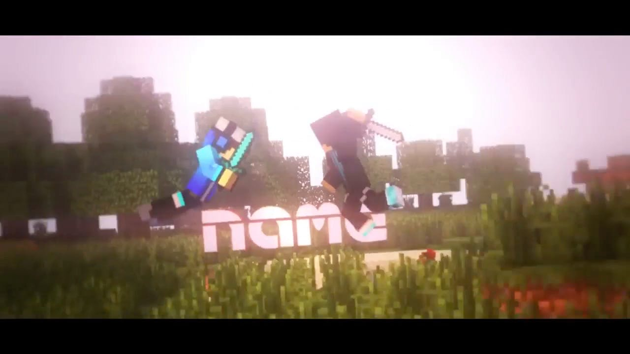 EPIC Minecraft FREE Cinema 4D After Effects Intro Template