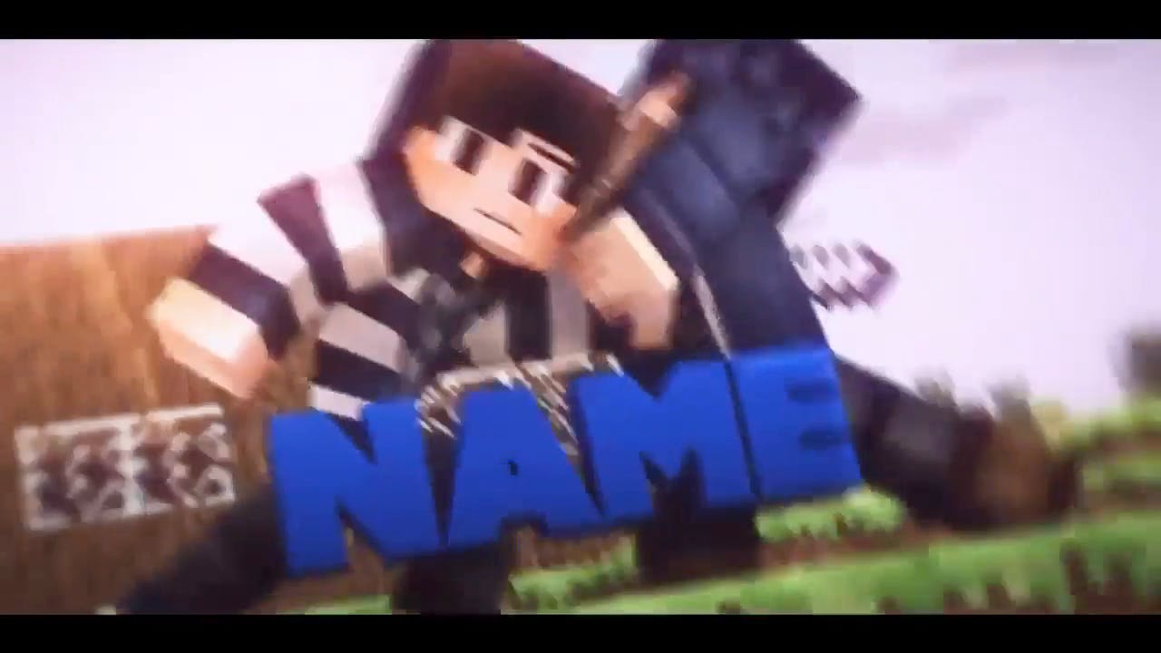 War Minecraft Cinema 4D After Effects Intro Template