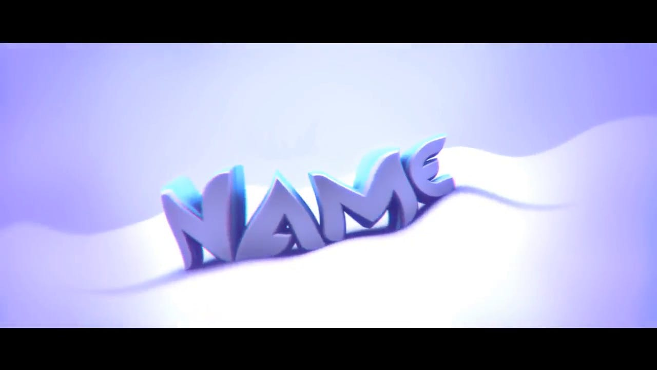 Chill and Clean Purple Cinema 4D After Effects Intro Template