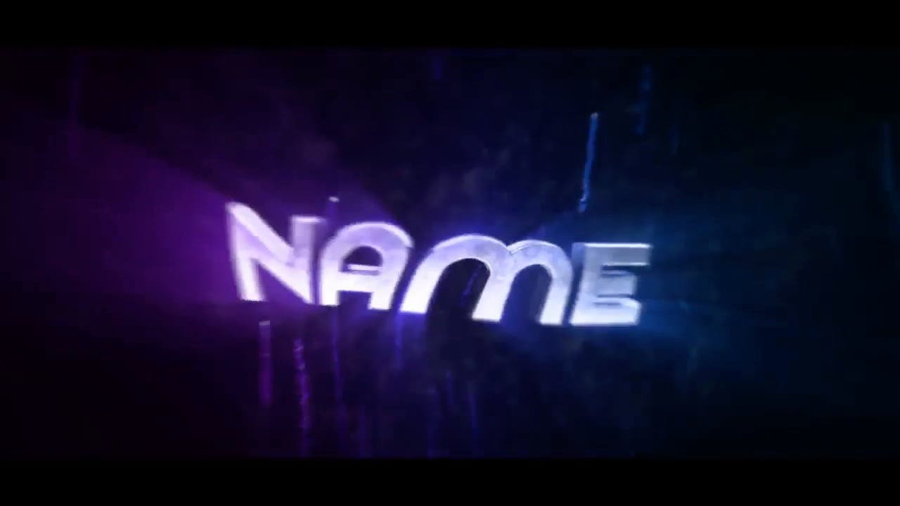 Amazing Winged Purple Spinning Cinema 4D After Effects Intro Template
