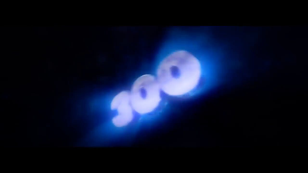 Free 300 SIlver Blue Cinema 4D After Effects Intro Template