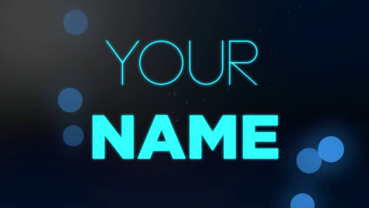 free glow 2d intro template after effects download