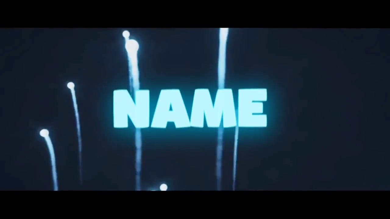 Amazing Rising Fireworks in Mint Green Sony Vegas Intro template