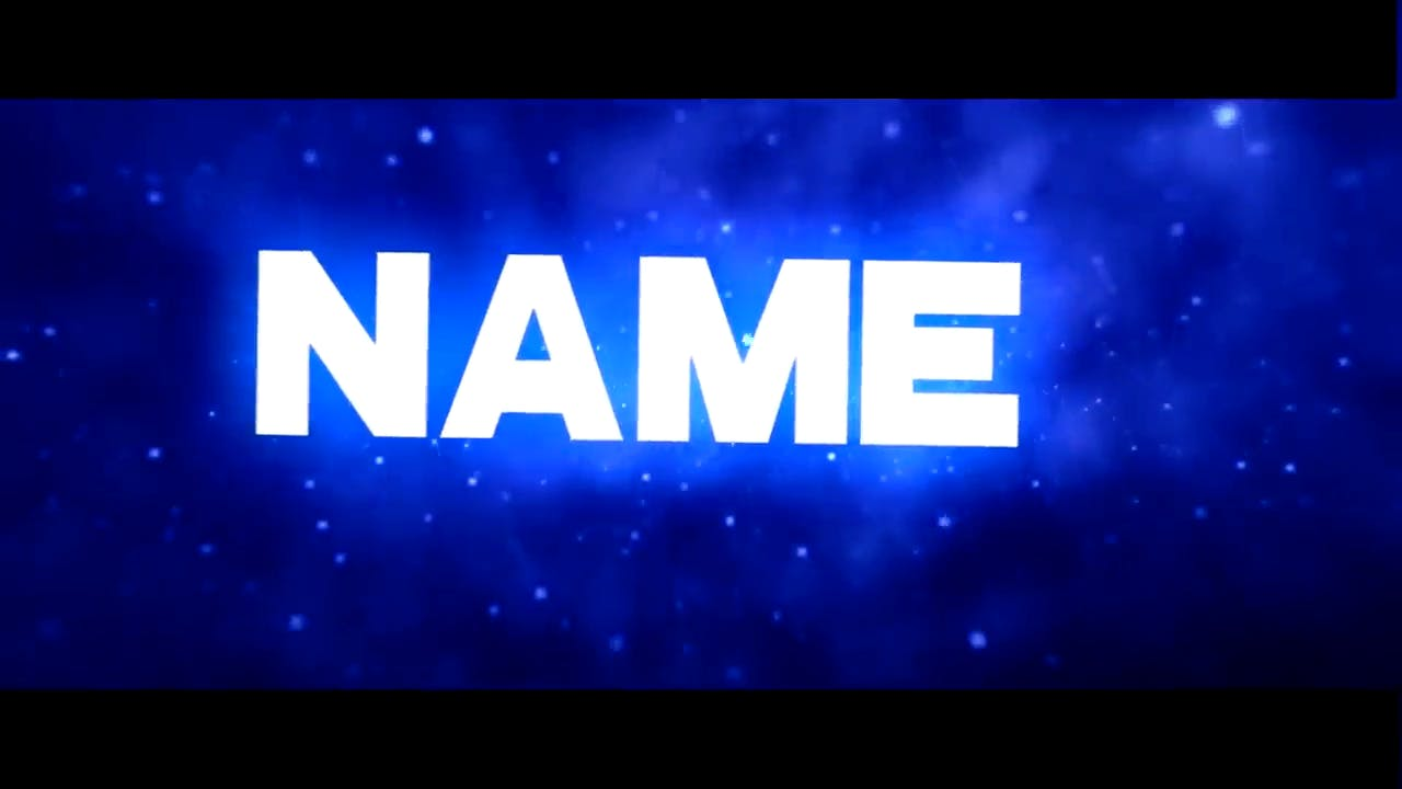 Simple and Chill BLUE Sony Vegas Intro template