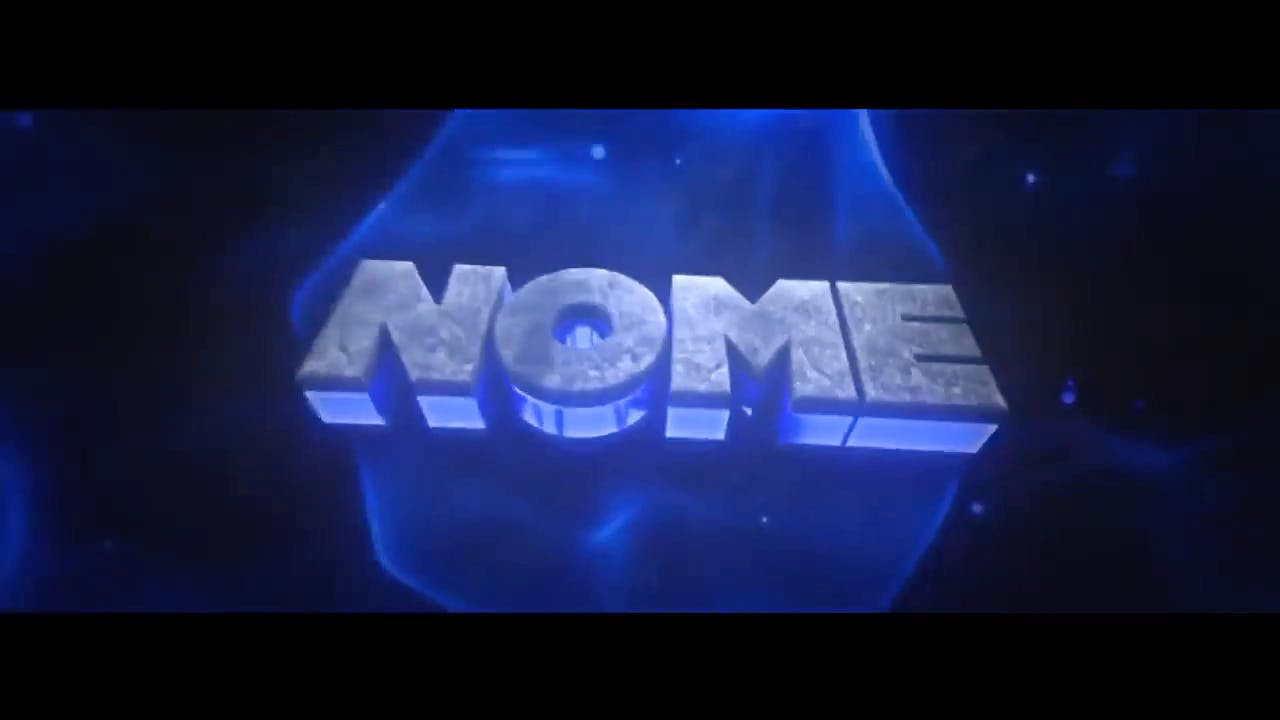 Free Grey and Blue Cinema 4D After Effects Intro Template