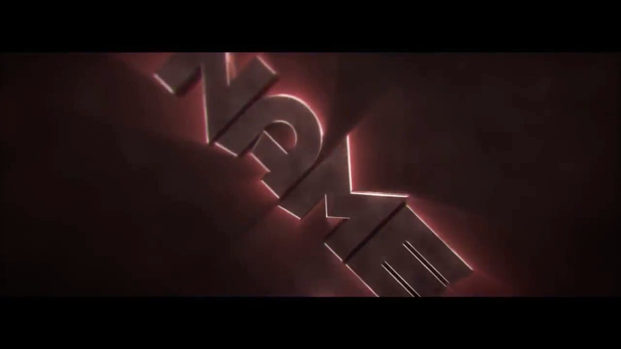 Free Amazing 3D in Red Cinema 4D After Effects Intro Template