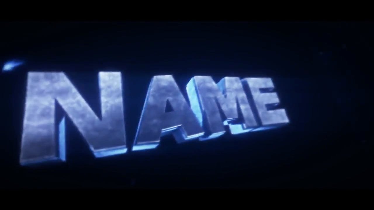 Very Nice Blue SYNC Cinema 4D After Effects Intro Template