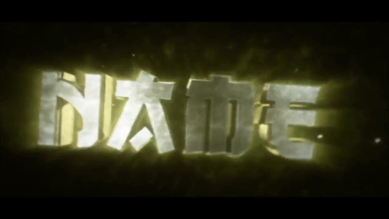 Awesome Yellow SYNC Cinema 4D After Effects Intro Template