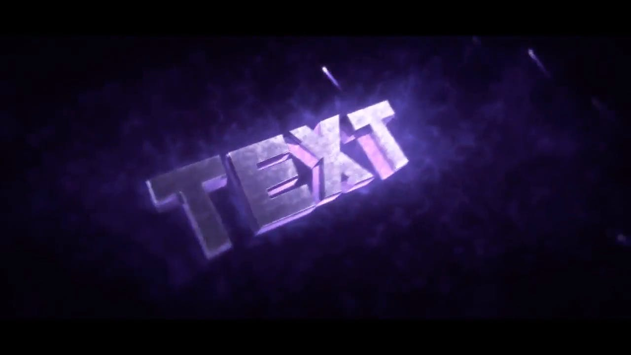 Extremely Insane Purple Cinema 4D After Effects Intro Template