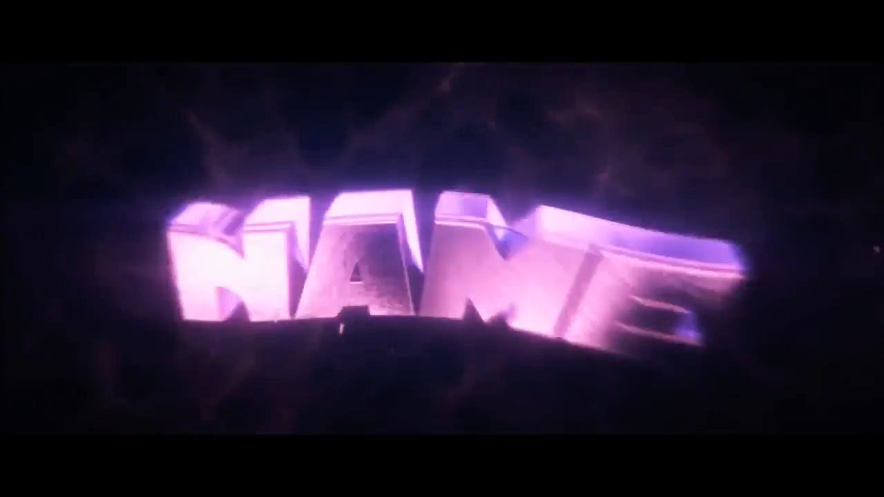 Sophisticated Purple Cinema 4D After Effects Intro Template