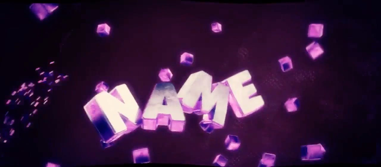 Epic SYNC 3D Purple Cinema 4D After Effects Intro Template