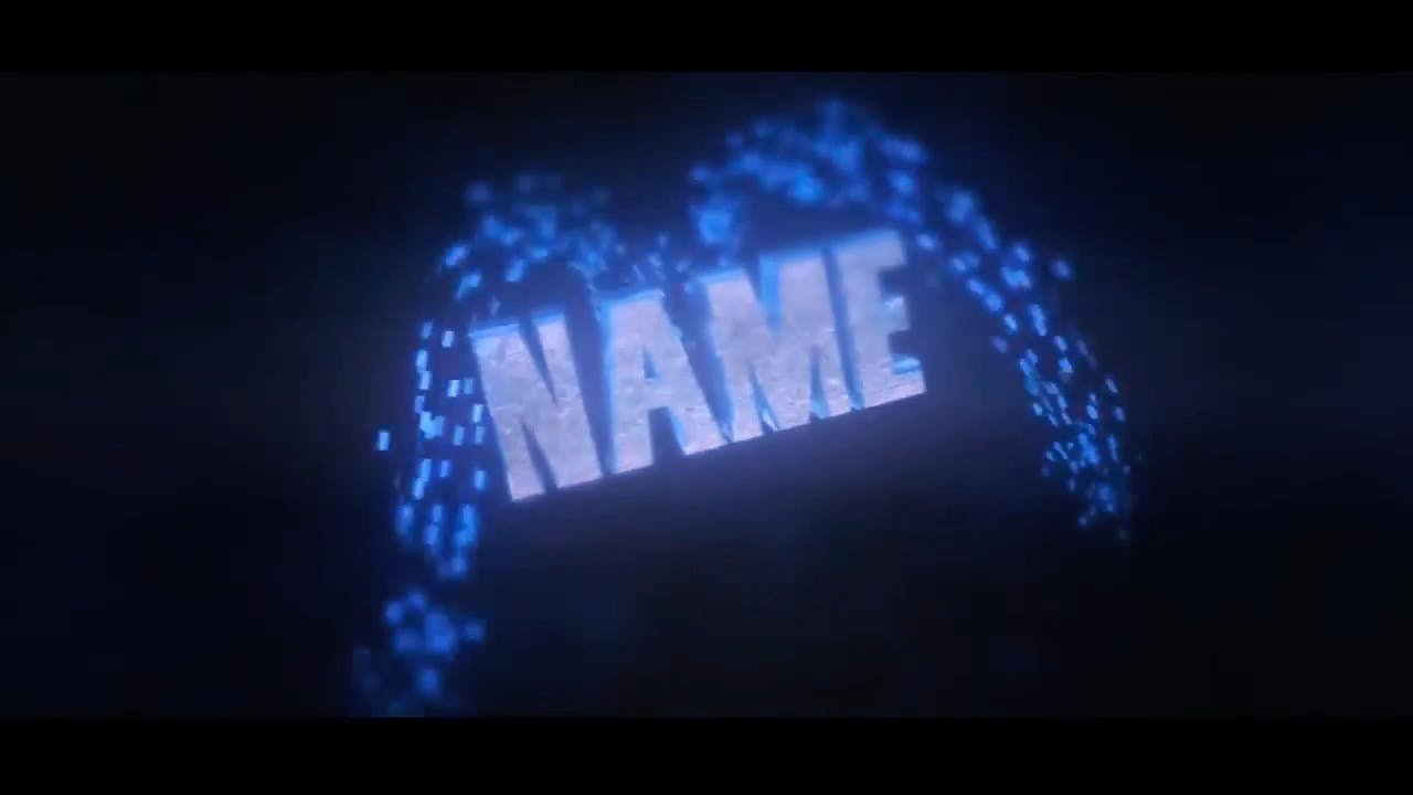 Amazing Chill Blue Cinema 4D After Effects Intro Template