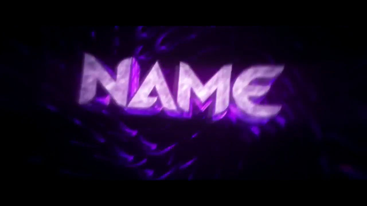FREE SYNC Purple Spinning Cinema 4D After Effects Intro Template