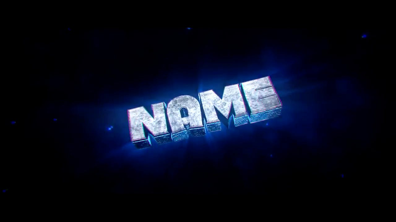 Super Chill Blue Green Cinema 4D After Effects Intro Template