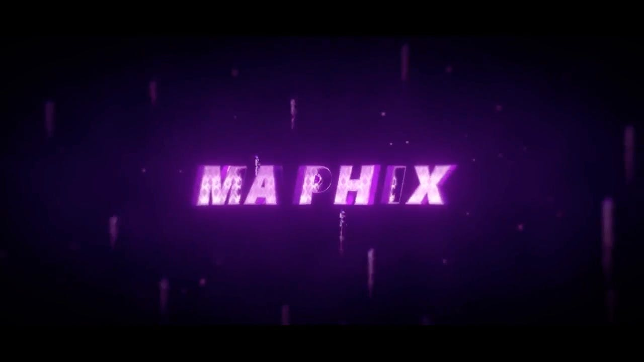 Stylish 3D Blender Only Intro template in Purple