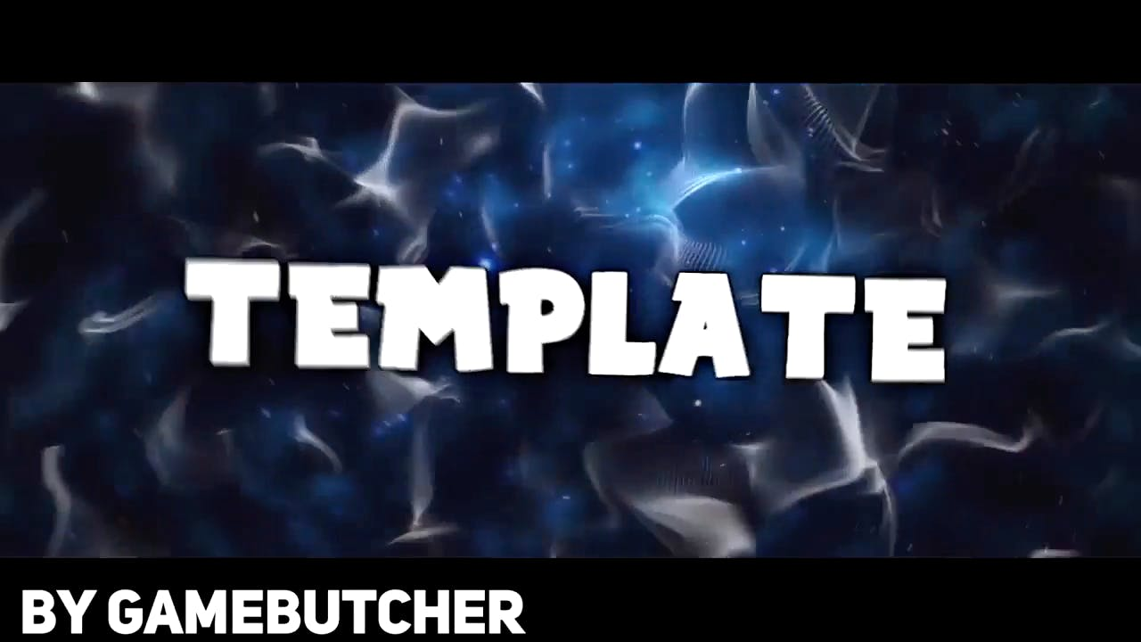 Free Galaxy Blue Background Sony Vegas Intro template