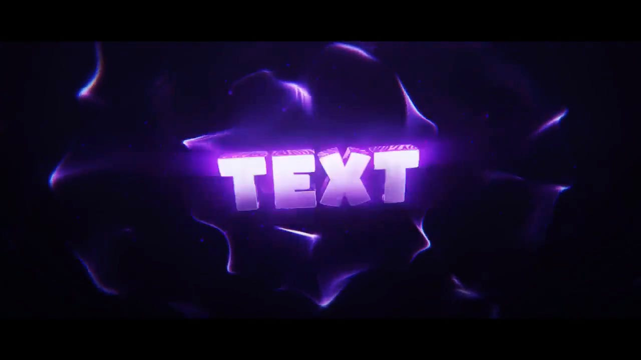 Super Cool Shiny Purple Cinema 4D After Effects Intro Template
