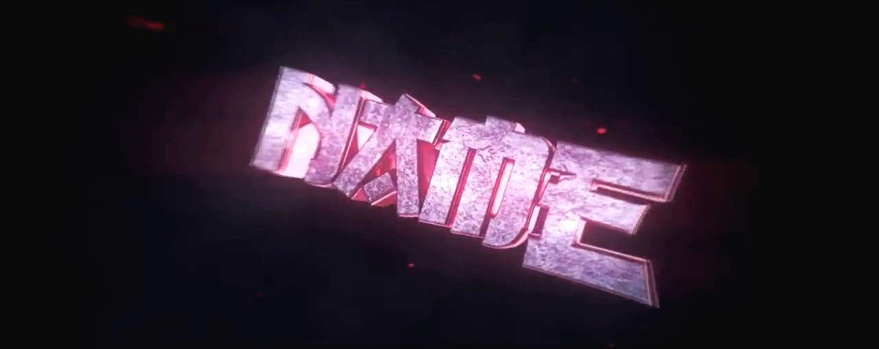 Rocking RED Cinema 4D After Effects Intro Template