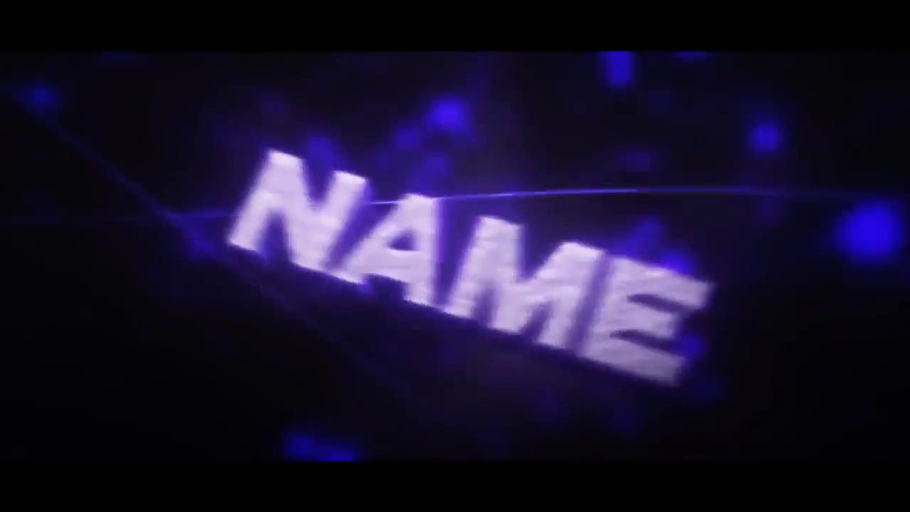 Awesome Purple Blue Combination Cinema 4D After Effects Intro Template