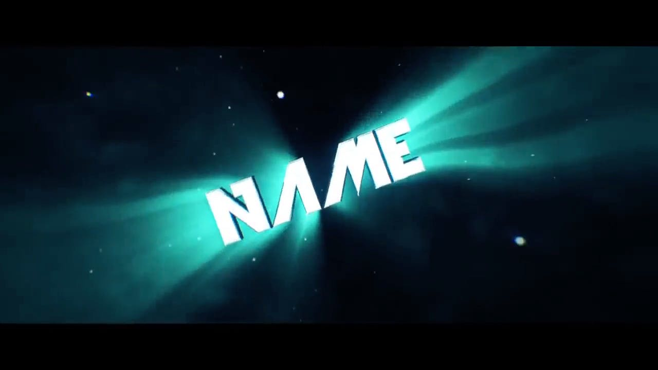 Amazing Shiny GREEN 3D Cinema 4D After Effects Intro Template