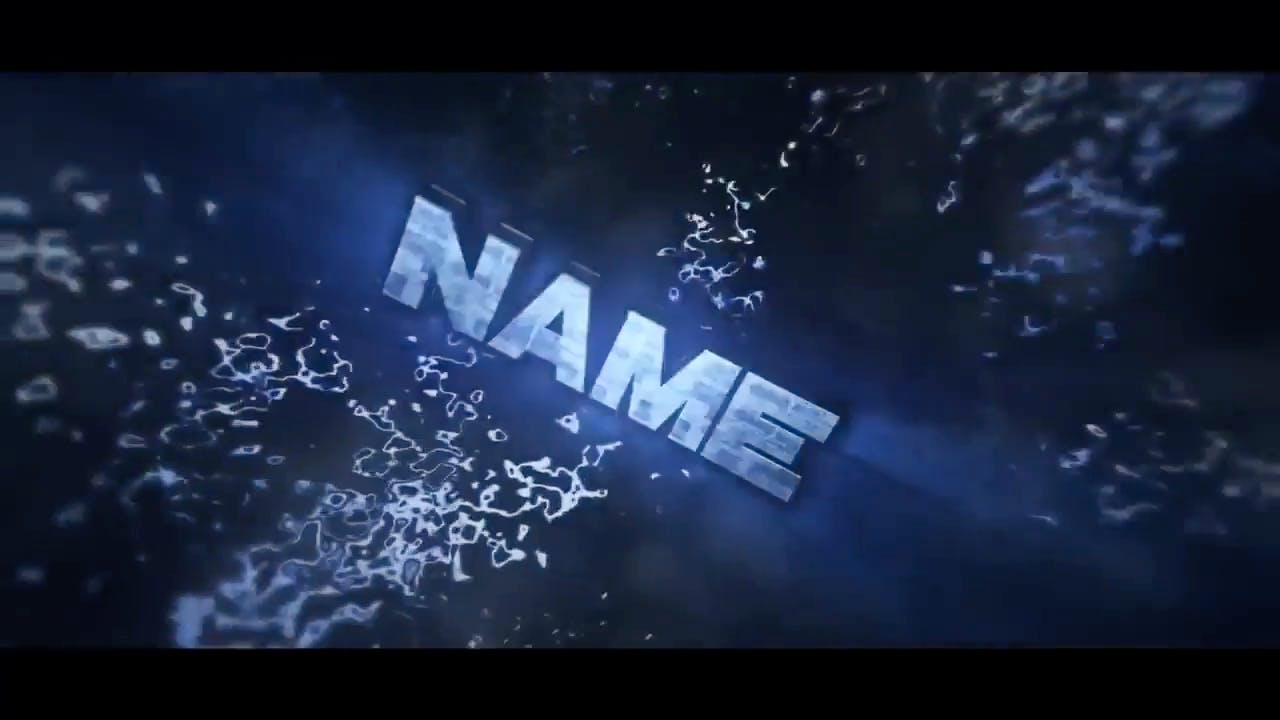 EPIC 3D BLUE Cinema 4D After Effects Intro Template FREE