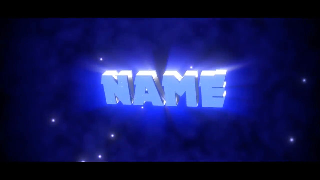 Super Nice BLUE Dual Blender Only Intro template