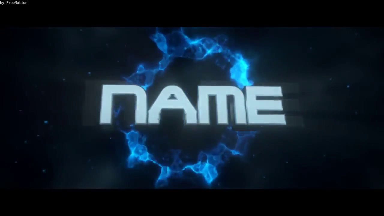 Free 3D Chill Particles Blender Intro Template