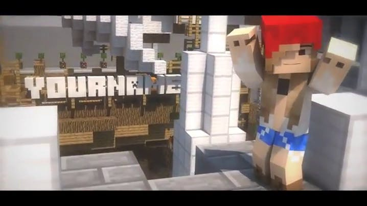Insane FREE Minecraft Intro Template After Effects Cinema 4D