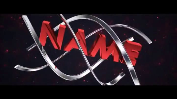FREE Red Synched Pumps 3D Intro Template