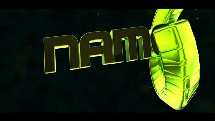 Free 3D Lime Green intro template created on C4D and After Effects