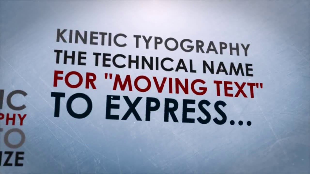free after effects kinetic typography