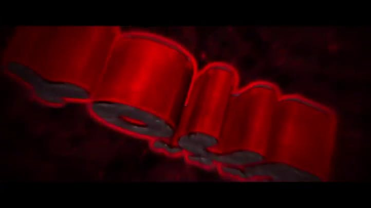 Free Black and Red Intro template C4D AE Download