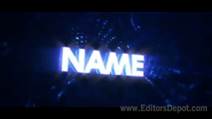 Free Synced Blasts 3D Intro Template AE C4D