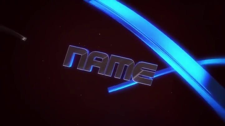Blue 3D dual sync free intro template